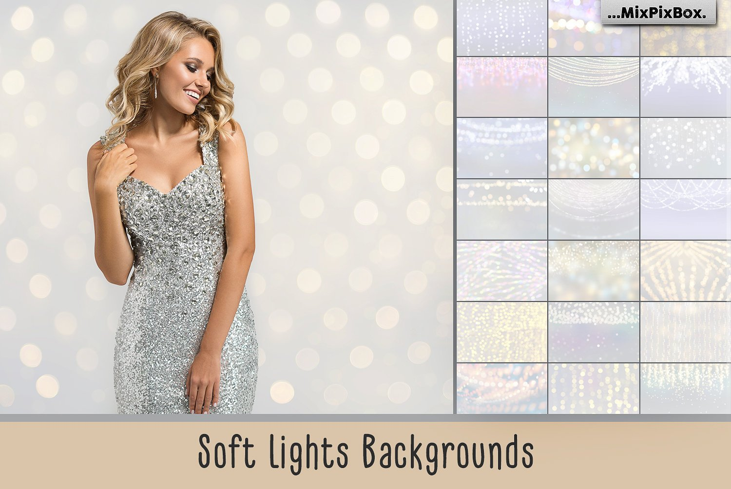 Soft Lights Backgrounds