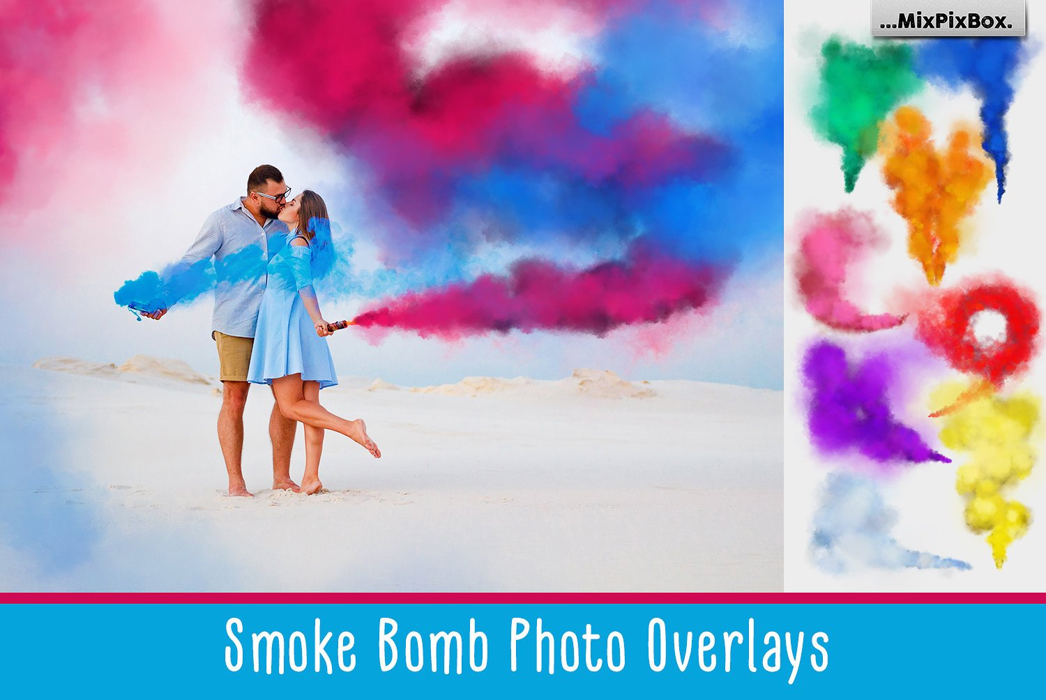 Smoke Bomb Overlays