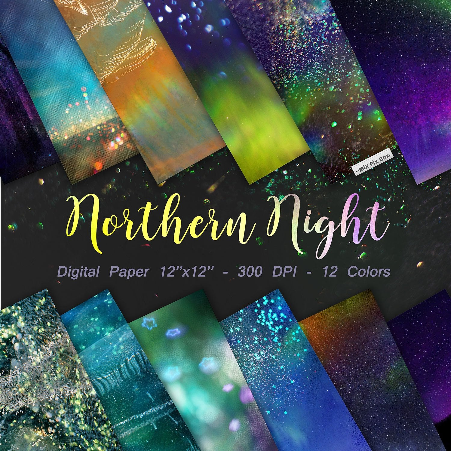 Northern Lights Digital Paper