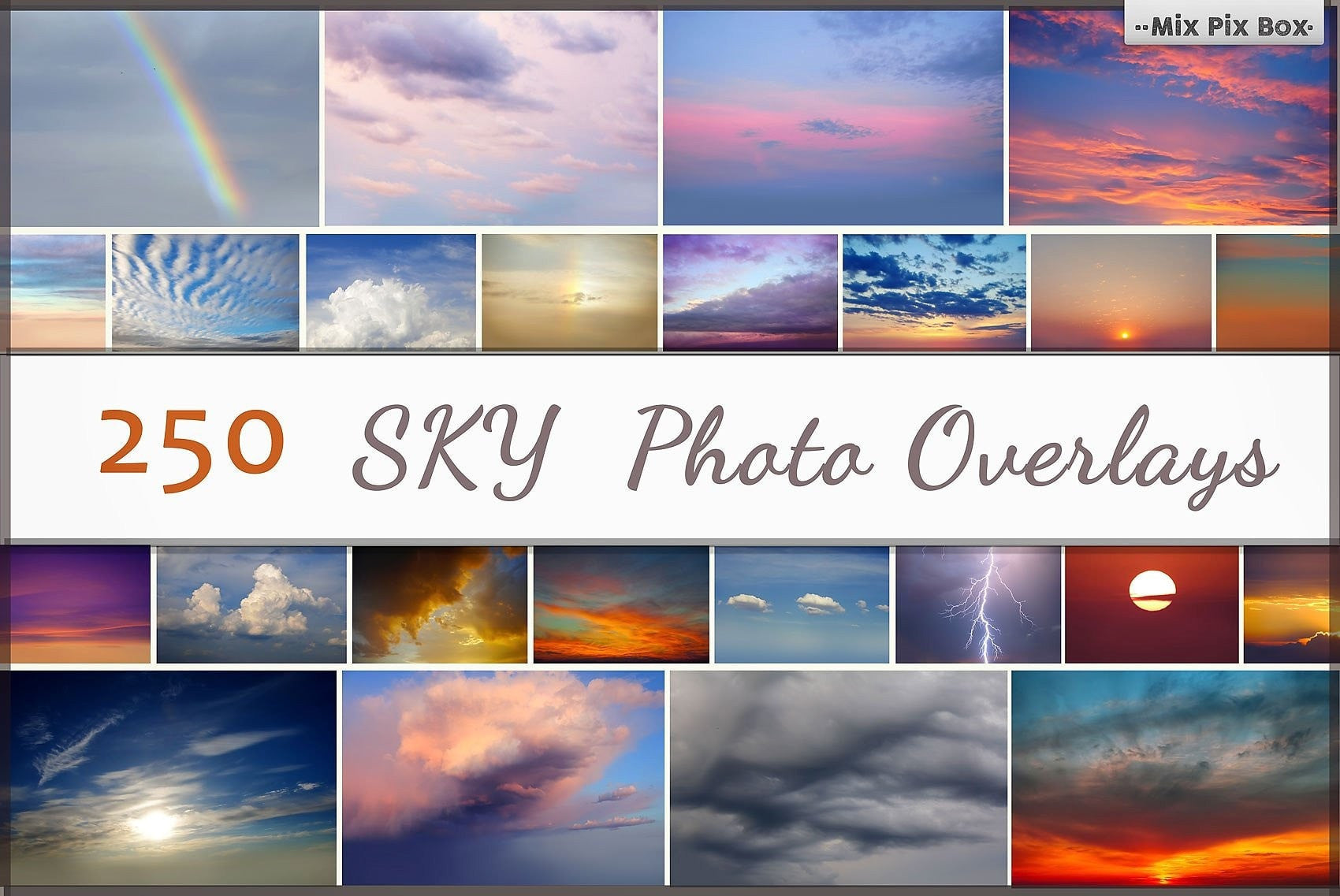 MixPixBox Overlays Sky Photo Overlays