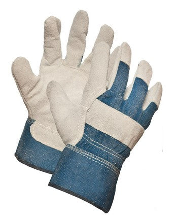 Split Leather Palm Glove, Premium Grade O/S
