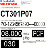 CRYOVAC™ CT301 30gaUltra High Yield Shrink Film
