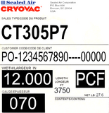 CRYOVAC™ CT305 Series Premium High Strength Shrink Film