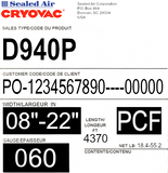 CRYOVAC™ D940 Series Premium Soft Shrink Film
