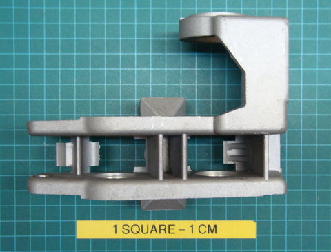 Roller bracket for the ES102 strapping machine.