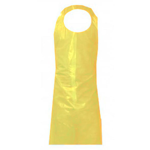 "Top Dog Yellow Die Cut 6 mil  x 45""L Apron"