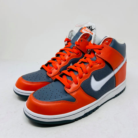 Nike Dunk High College Orange Flint Grey Size 9.5