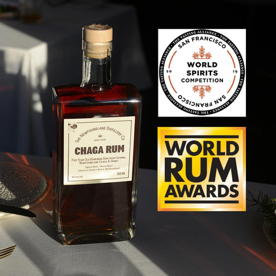 Chaga Rum is Best Spiced Rum in Canada