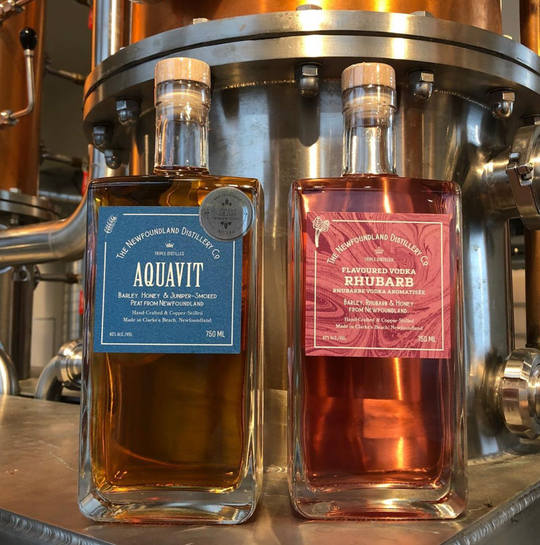 Aquavit and Rhubarb Flavoured Vodka are Back.