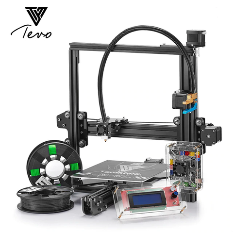 TEVO Tarantula 3D Printer Kit with Pro Set Taralu Aluminium Upgrade Parts