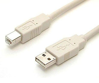 USB-A to USB-B Cable 3m/10ft