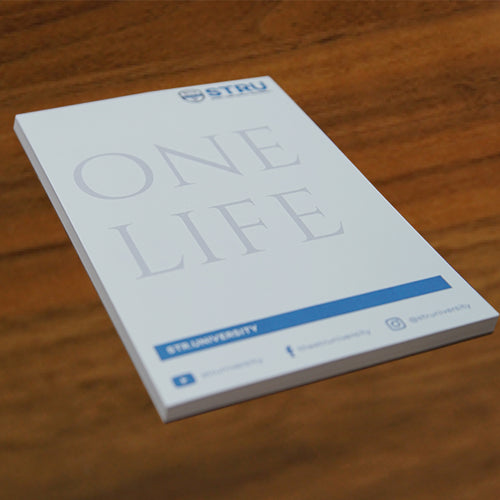 ONE LIFE - Notepad Set (Set of 5)-The STRU Store- Airbnb & VRBO Host Tips
