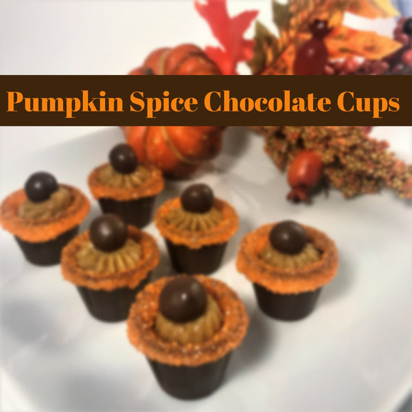 Pumpkin Spice Chocolate Cups - Recipe