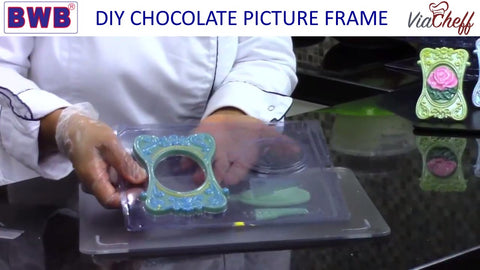 removing chocolate from the chocolate mold