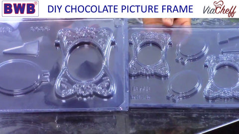 picture frame chocolate molds