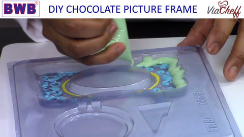 chocolate picture frame