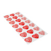 Hearts 1 -  Chocolate Transfer Mold (21 Cavities)