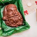 Image of Large Santa Claus Face Chocolate Mold