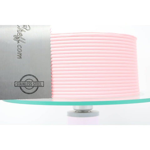 "2-Sided Cake Decorating Comb #4 (4"" X 8"")"