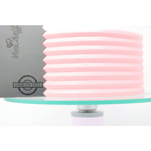 "2-Sided Cake Decorating Comb #7 (4"" X 8"")"