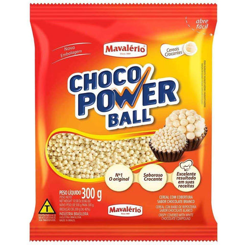 White Chocolate Crispies Micro 3mm 300G(10.5oz)