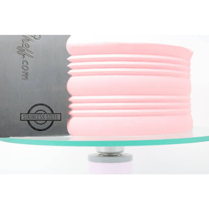 "2-Sided Cake Decorating Comb #7 (4"" X 8"") - ViaCheff.com"