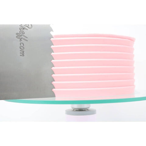 "2-Sided Cake Decorating Comb #3 (4"" X 8"")"
