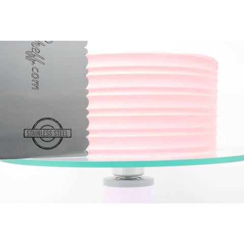 "2-Sided Cake Decorating Comb #8 (4"" X 8"")"