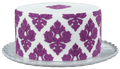 Damask Pattern Silicone Onlay