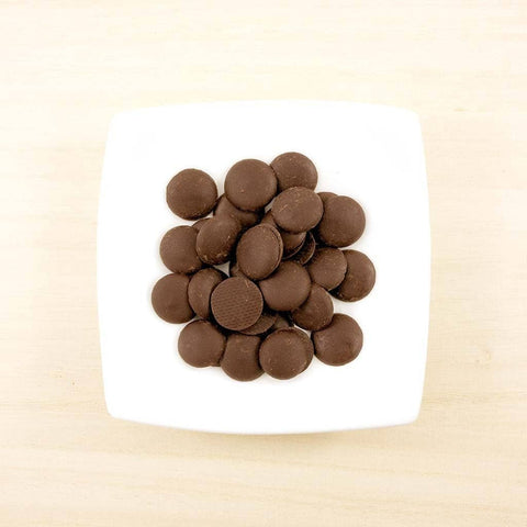 Image of Premium Milk Chocolate Coating - Melting Wafers 1.01kg (2.23 lb) - ViaCheff.com
