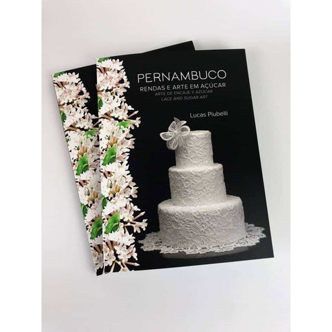 Image of Art and Lace In Sugar by Lucas Piubelli - ViaCheff.com