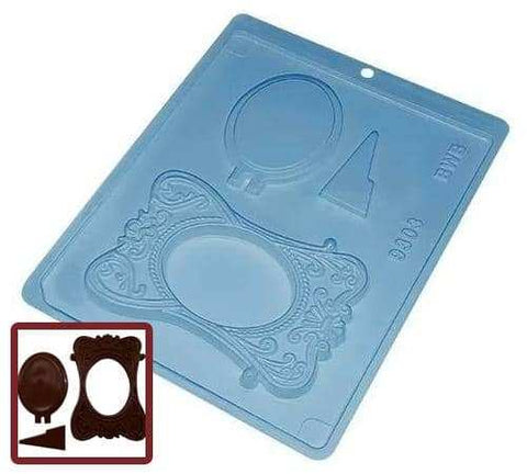 Image of Large Picture Frame Chocolate Mold