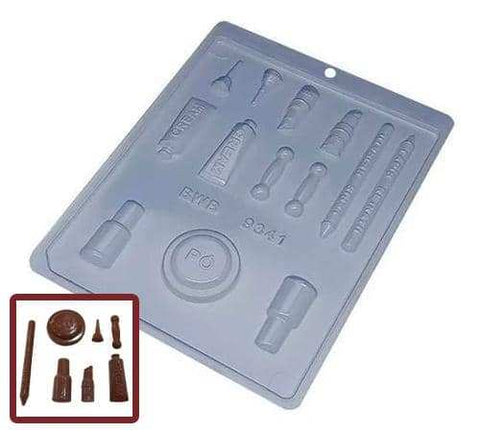 Image of Makeup Kit Chocolate Mold