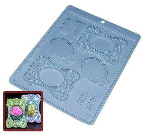 Image of Medium Picture Frame Chocolate Mold