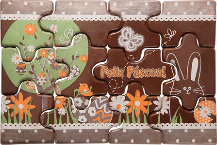 Easter Puzzle 1 - Chocolate Transfer Mold