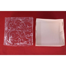 Ornamental Box For Bem-Casados (White Embossed Clear Cover)