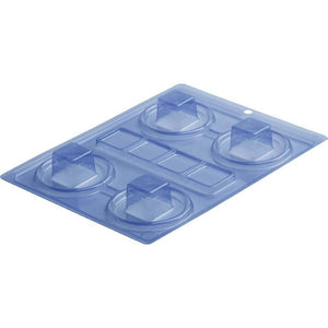 Mini Square Box Chocolate Mold - ViaCheff.com