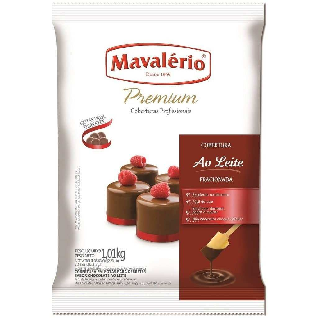 Premium Milk Chocolate Coating - Melting Wafers 1.01kg (2.23 lb)