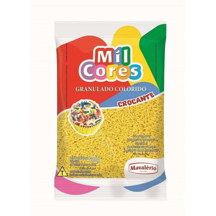 Yellow Sprinkles 500g (1.10 lb)