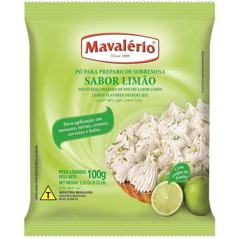 Mavalério Lime Flavored Dessert Mix 100g (3.5oz)