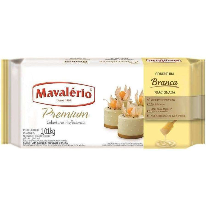 White chocolate coating. Great as dipping chocolate. Buy Premium Chocolate Compound line by Mavalerio online. Only on ViaCheff.com