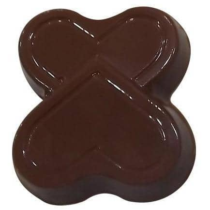 Double Heart Candy Chocolate Mold - ViaCheff.com
