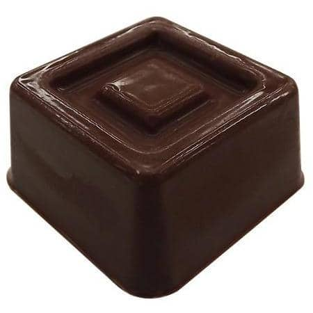 Detailed Square Bonbon Chocolate Mold