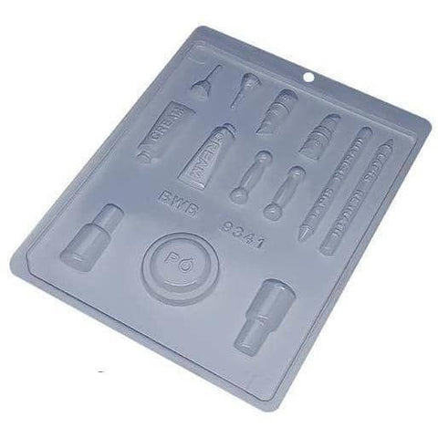 Image of Makeup Kit Chocolate Mold - ViaCheff.com
