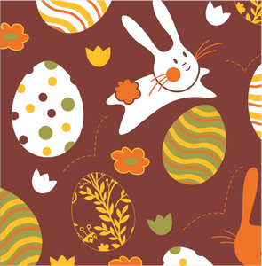 Easter Pattern 3 - Transfer Sheet For Chocolate 290 x 390 (mm)