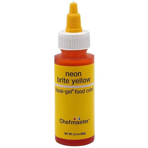 Image of LIQUA-GEL® Neon Brite Yellow (2.3oz) - ViaCheff.com