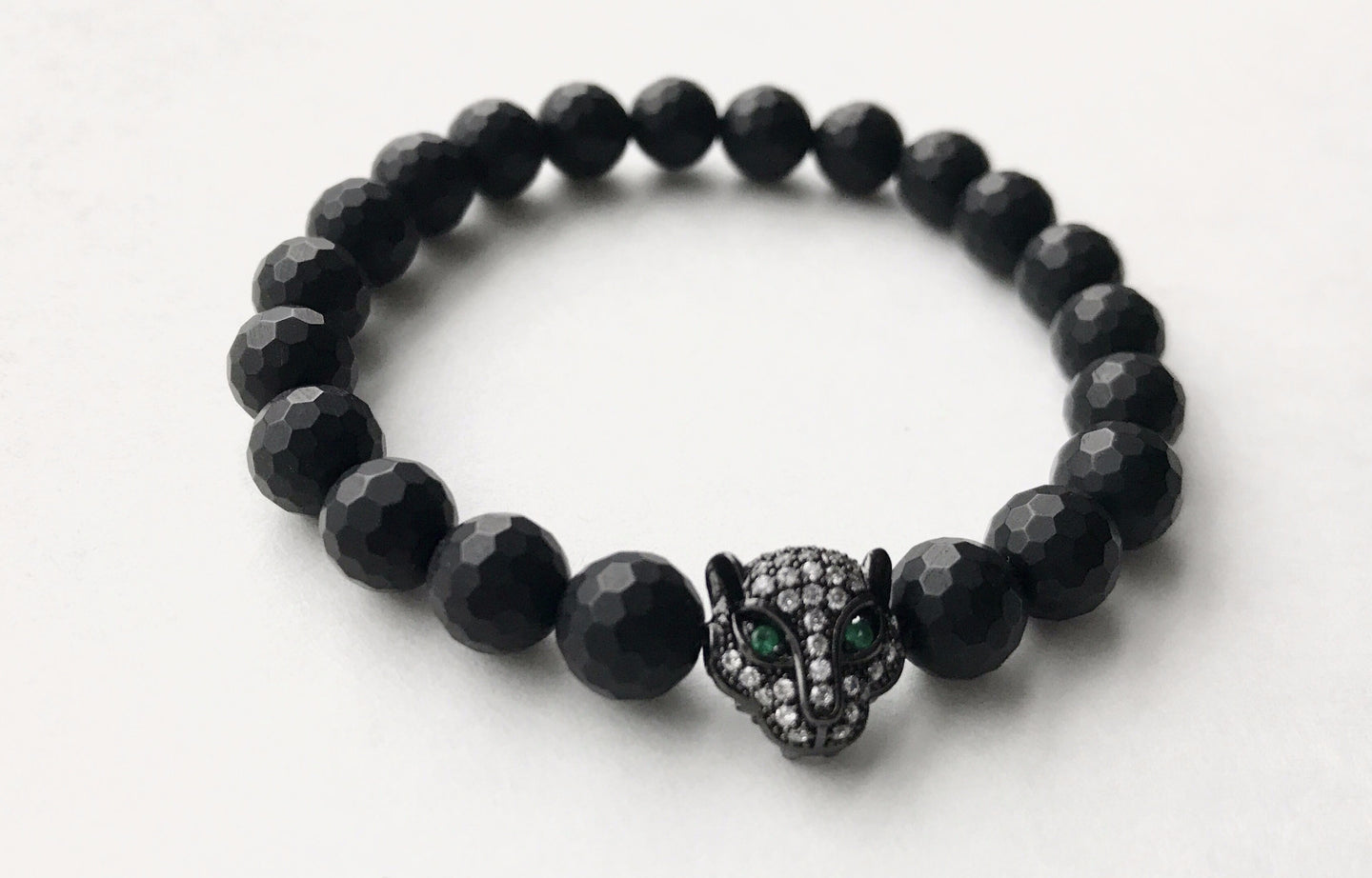 Black Jaguar Green Eyes x Matte Onyx