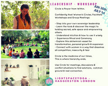 HOLYMAMA CIRCLE LEADERSHIP TRAINING - LONDON