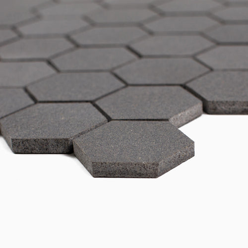 Cooper 10-Pack Mosaic Wall and Floor Tile, Basalt