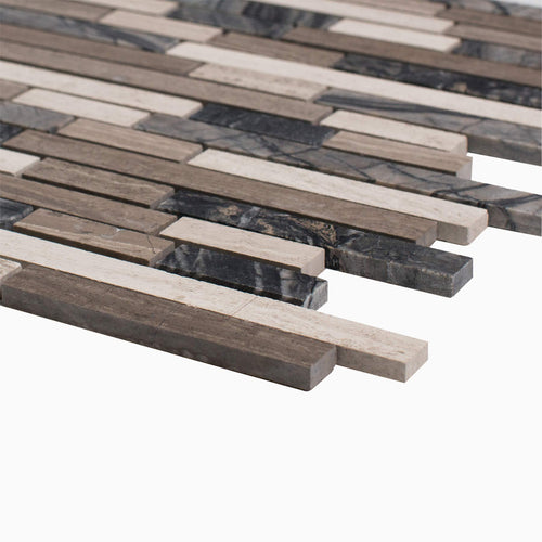 Byron 10-Pack Mosaic Wall and Floor Tile
